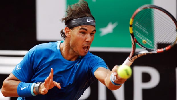 Rafael Nadal v Novak Djokovic in Rome Masters final