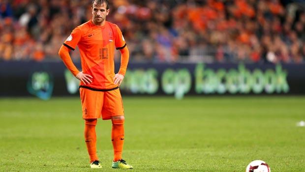 Rafael Van der Vaart Netherlands World Cup 2014