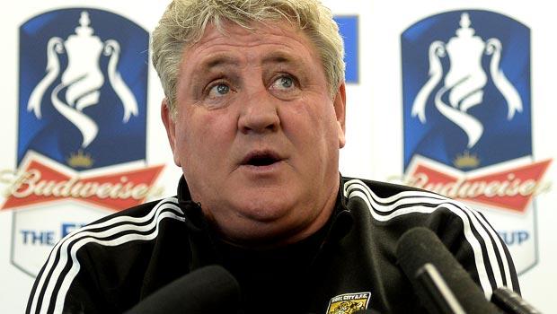 Steve Bruce Hull City boss fa cup