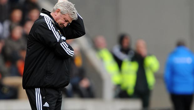 Steve Bruce Hull City manager to face Arsenal FA Cup