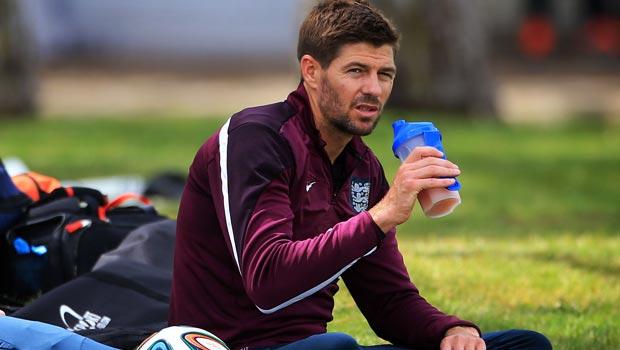 Steven Gerrard England captain