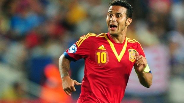 Thiago Alcantara Spain out of World Cup