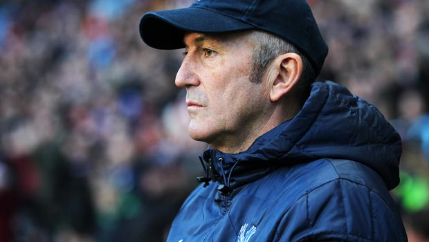 Tony Pulis Crystal Palace Manager