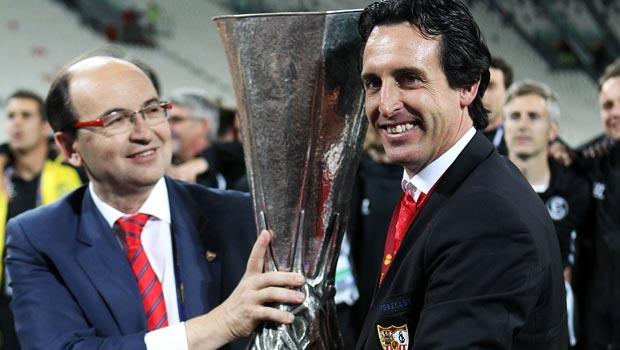 Unai Emery Sevilla manager Europa League