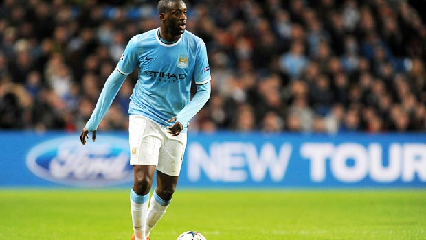 Yaya Toure Manchester City boosts title charge