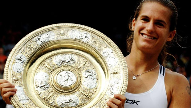 Amelie Mauresmo as Andy Murrays new coach