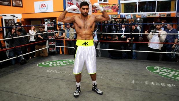 Amir Khan to face Kell Brook