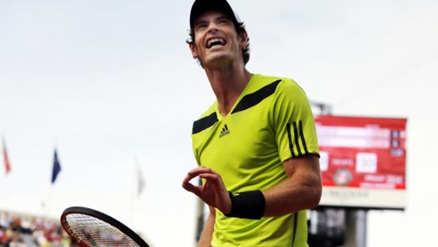 Andy Murray French Open Tennis