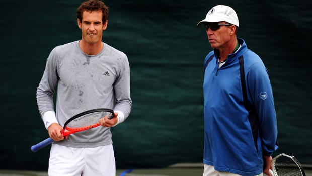 Andy Murray and Ivan Lendl Tennis