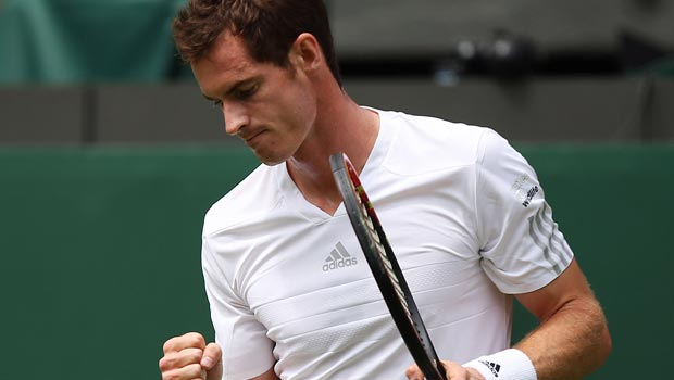 Andy Murray v David Goffin 2014 Wimbledon Championships