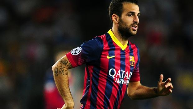 Cesc Fabregas Barcelona Midfielder
