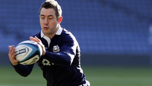 Greig Laidlaw Scotland captain