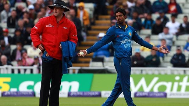 Jos Buttler England and Sachithra Senanayake Sri Lanka ODI
