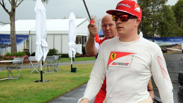 Kimi Raikkonen Ferrari Formula one