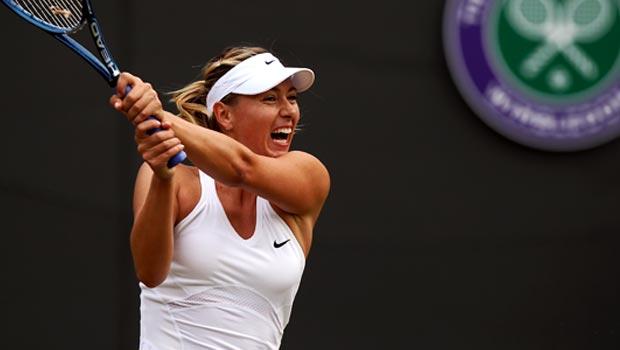 Maria Sharapova v Timea Bacsinszky Wimbledon Championships