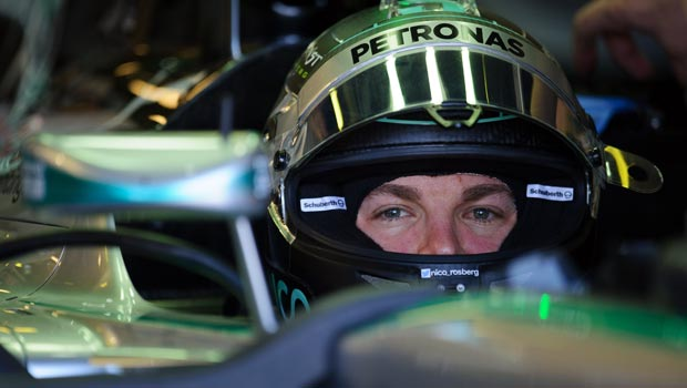 Nico Rosberg of Mercedes