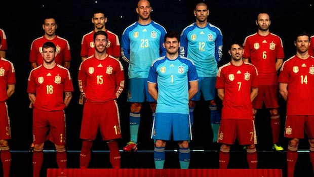 Spain World Cup 2014 Squad