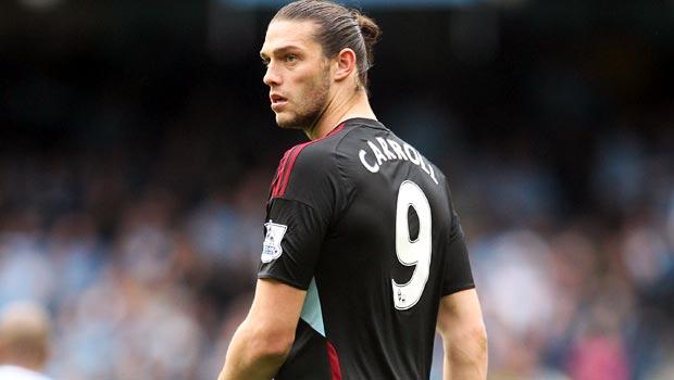 Andy Carroll West Ham striker