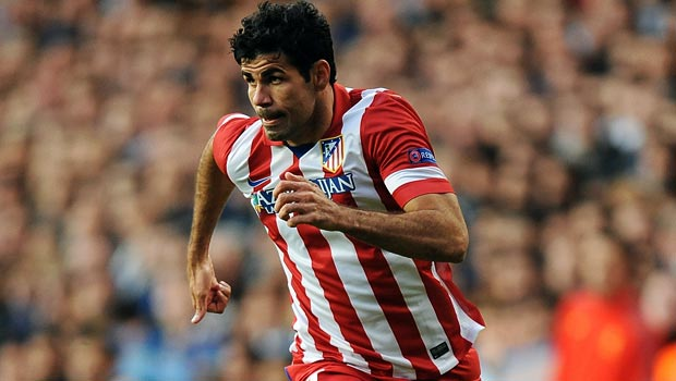 Atletico Madrid Diego Costa