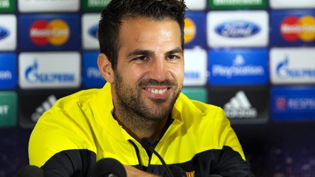 Cesc Fabregas Barcelona