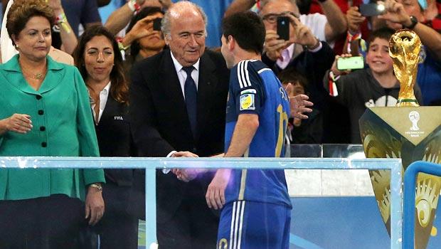 Lionel Messi Golden Ball award
