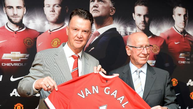 New Manchester United manager Louis van Gaal