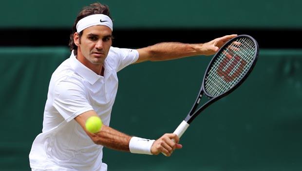 Roger Federer v Novak Djokovic Wimbledon Championships