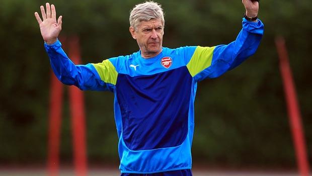 Arsene Wenger Arsenal v Besiktas