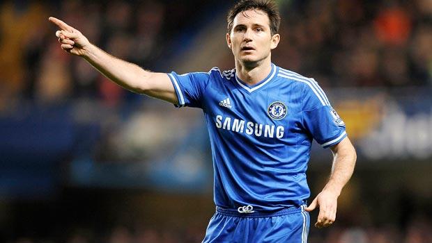 Frank Lampard Chelsea midfielder