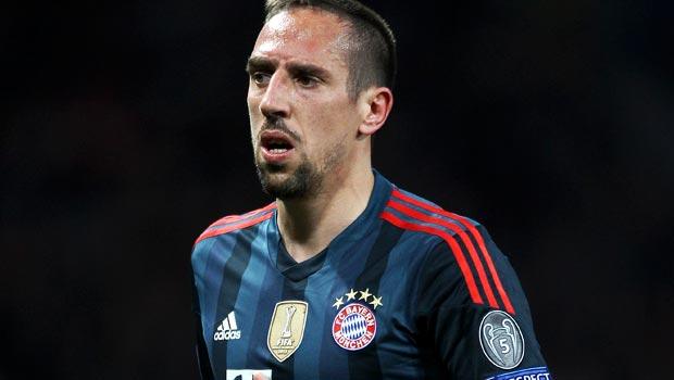 Franck Ribery Bayern Munich ace