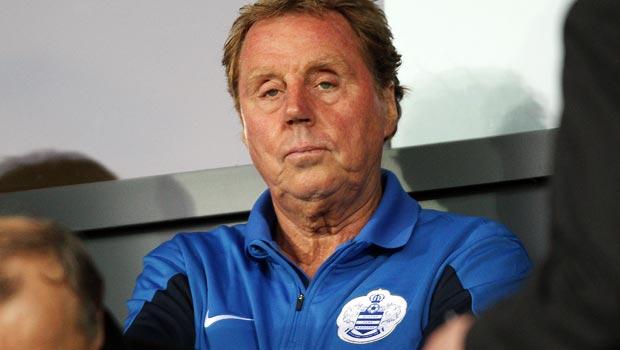Harry Redknapp QPR manager