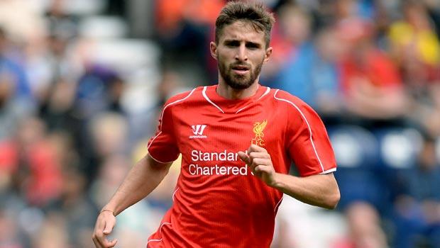 Fabio Borini Liverpool striker