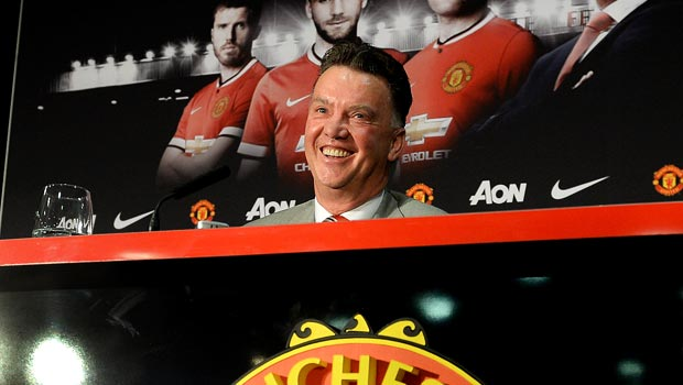 Louis van Gaal Manchester United manager