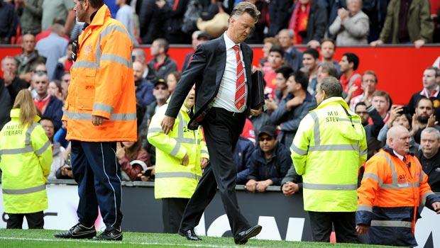 Louis van Gaal Manchester United v Swansea City