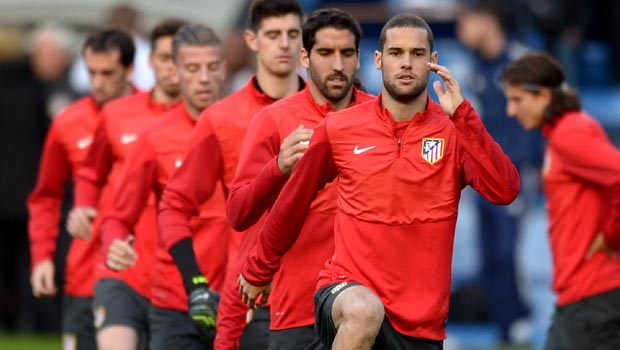 Mario Suarez sure Atletico Madrid