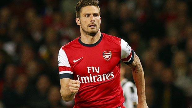 Olivier Giroud Arsenal striker