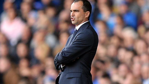 Roberto Martinez Everton v Arsenal