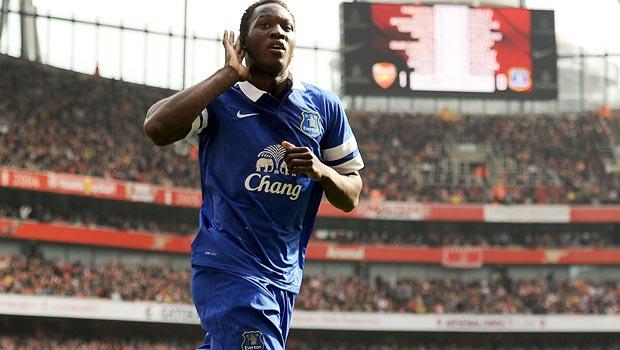 Romelu Lukaku Everton