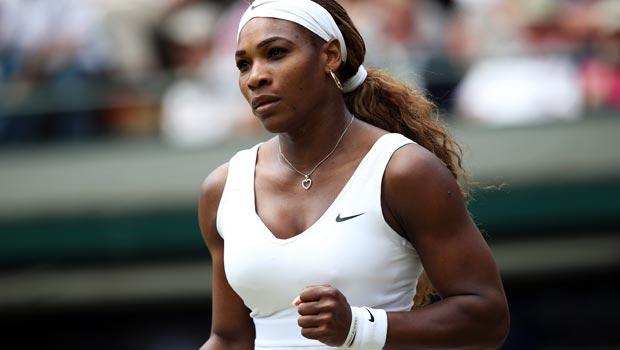 Serena Williams ahead of US Open