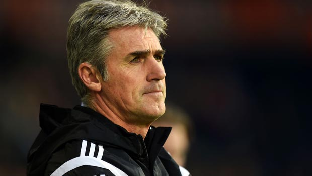 Alan Irvine West Bromwich Albion manager