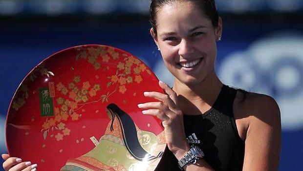 Ana Ivanovic Wins Pan Pacific Open Title