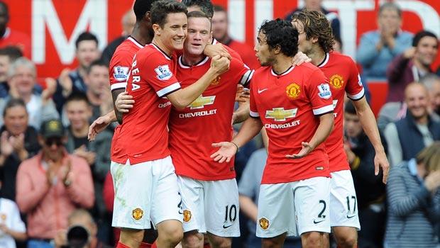 Ander Herrera Manchester United v QPR