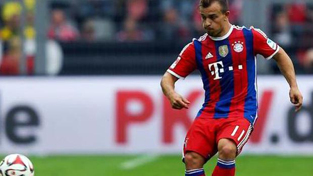 Xherdan Shaqiri Bayern Munich forward
