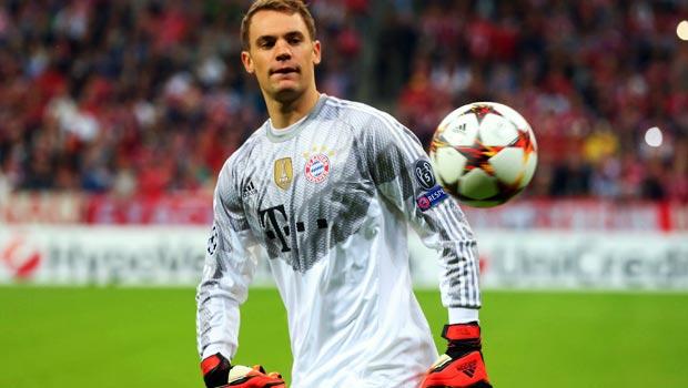 Manuel Neuer Bayern Munich goalkeeper