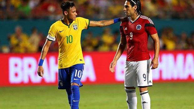Brazil 1-0 Colombia