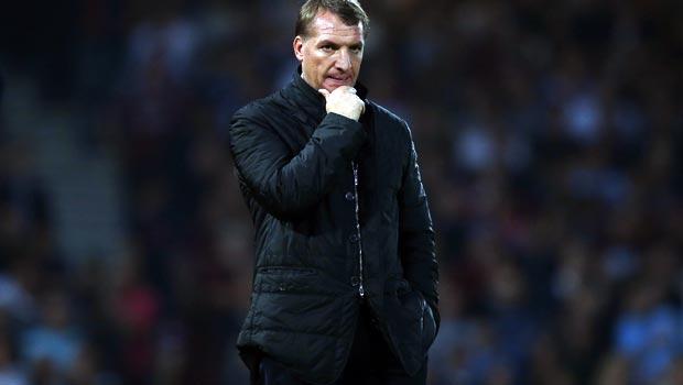 Brendan Rodgers Liverpool v West Ham