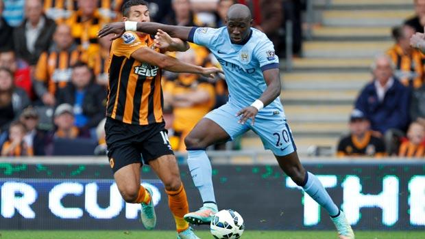 Eliaquim Mangala Manchester City Centre back