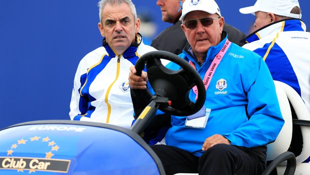 Europe captain Paul McGinley Ryder Cup