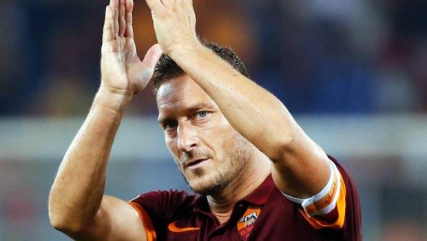 Francesco Totti AS Roma Captain