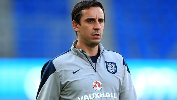 Gary Neville England Coach